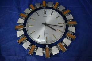 Vintage Metamec Wall Clock Quartz