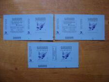 COLLECTION 3 emballages paquets de GAULOISES Suede Sweden JACNO marqués 1985