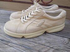 ECCO Beige Nubuck Leather Walking Shoes. Women's 8.5 (eur 40)