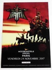 Rare flyer I AM IAM Paris Bercy 24/11/2017 * EX ! *  Not a Ticket RAP