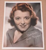 1930s JANET GAYNOR Movie Star Original Vintage Promo Print Portrait Photo #148