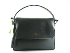 Nwt Kate Spade Miri Chester Street Leather Satchel Handbag Crossbody Bag Black