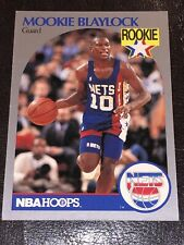 MOOKIE BLAYLOCK - ROOKIE - CARD # 193 - 1990-91 - NBA HOOPS - NEW JERSEY NETS
