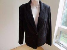 The Limited Jacket Blazer- Black Knit White Fleck- Lined- Size L  NWOT  #W2
