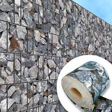 Zaun Sichtschutz Streifen für Doppelstabmatten Splittstein inkls. Klemmschienen