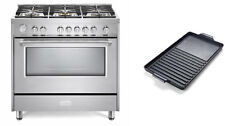 "Verona Designer Series Vdfsgg365Ss 36"" All Gas Range Oven W/Griddle Stainless"
