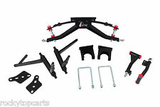 """Club Car DS GTW 6"""" Double A-arm Golf Cart Lift Kit Fits Mid 2003 to Present"""