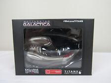 "Titans Battlestar Galactica Cylon Raider 4.5"" ScarTitan Loot Crate Brand New"