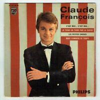 """Claude FRANCOIS Vinyle 45T EP 7"""" C'EST MOI... LES PETITES CHOSES -PHILIPS 437199"""