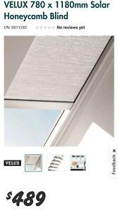 Velux solar powered skylight blind (honeycomb) - M06 fixed type