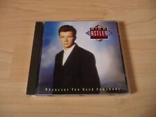CD Rick Astley - Whenever you need somebody - 1987
