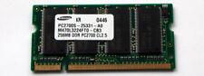 256 MB PC2700 DDR-333MHz no ECC CL2.5 200-Pin SODIMM UNBUFF (M470L3224HU0-CB3)
