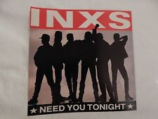 "INXS ""Need You Tonight"" PICTURE SLEEVE! BRAND NEW! ONLY NEW COPY ON eBAY!!"