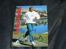 1953-2011 GRETE WAITZ New York Marathon legend autographed Postcard