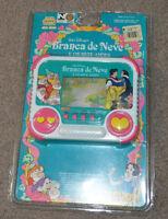 Vtg Snow White & the Seven Dwarfs Brazilian Tec Toys Handheld Video Game Disney