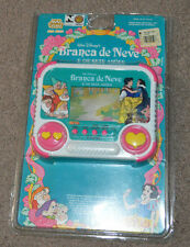 Vtg Branca de Neve e Os Sete Anoes Brazilian Tec Toys Handheld Video Game Disney