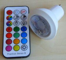 LED 6 watt RGB Kaltweiss Timer und Fernbedienung -#5399