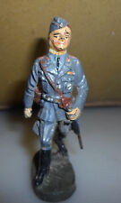 rare prewar ELASTOLIN LINEOL Luftwaffe walking german WWII soldier / officer