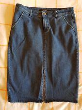Portmans - Denim Pencil Skirt - Size 14 ** Free Postage **