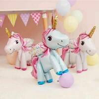 22'' Rainbow Unicorn Foil Balloon Baby Shower Children Birthday Party Decor GIFT