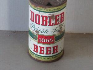 DOBLER. BEER.   COLORFUL SOLID.  FLAT.  TOP