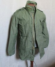 NEW ALPHA  ORIGINAL US ARMY M-65  FIELD JACKET COLD WEATHER X- SMALL MADE IN USA