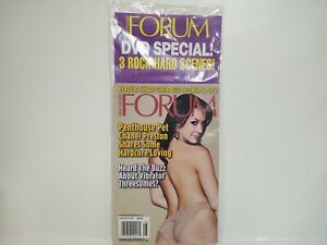 Penthouse Forum Magazine August 2013 With DVD Included NEW eb80