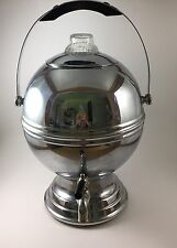 La Belle Silver Co. #1955A *WORKING* Coffee Percolator Chrome w/Bakelite Accents