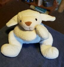 1996 TY BABY PILLOW PALS BABA LAMB SHEEP PLUSH SOFT STUFFED ANIMAL TOY 14""