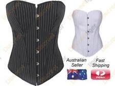 Cotton Blend Shapewear Lace Up Corsets & Bustiers for Women
