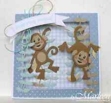 Marianne Design Collectables - Eline's Monkey Craft Die Set COL1399