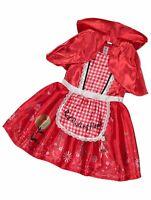 George Petit Chaperon Rouge Costume Monde Livre Jour Déguisement Fille