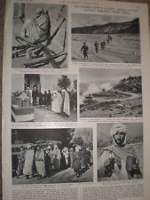Photo article uprising and fellaghas In French Algeria 1954 ref X3