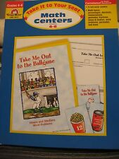 TEACHERS:Take it to Your Seat Math Centers, Grades 4-6