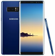 Neuf Samsung Galaxy Note 8 SM-N950U 64 Go RAM 6 Go (Débloqué) Smartphone Bleu