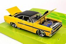 PLYMOUTH GTX 1970 NEW 31220 1:24 MAISTO CLASSIC MUSCLE MODEL YELLOW