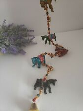 5 Horses Bell Tota - Made In India - Traditional Indian Household Welcome Bright