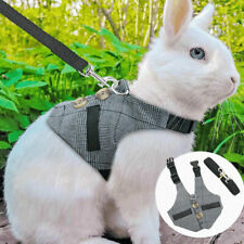 More details for small animal harness lead adjustable rabbit squirrel walking vest for pet puppy