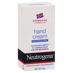 Neutrogena Hand Cream Fragrance Free 56g Concentrated Relief Norwegian Formula