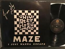 JEAN SHY~MAZE (I JUST WANNA ESCAPE)~RARE ORIG '82 GERMAN LP~MOD SOUL FUNK BOOGIE