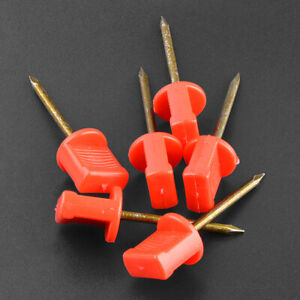 Archery Target Pins Steel Nails Fix Straw Board Paper Face Targets Bow Shooting