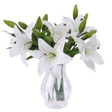 Fleurs artificielles et séchées de décoration intérieure en soie