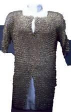 Einzigartige Kettenhemd Flach Genietet mit Solid Ring Hemd Sca 10 mm Größe Arm