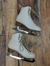 "Jackson Competition Figure Skates Ice Skating Ultima Mirage 9.25"" Blades Size 6B"