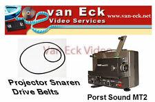 Porst Sound MT2 belts -2 belt set (motor, top-belt)