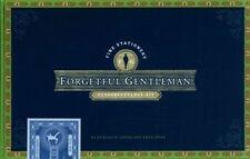 Nuevo Sellado olvidadizo Gentleman Stationery Caja + Libro en Rústica Por Nathan
