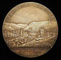 Silber Medaille XX.Verbandsschießen Bingen 1904,Ernst Ludwig v.Hessen,Dalmberger
