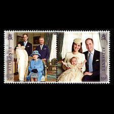 Alderney 2014 - 1st Anniv Birth of Prince George of Cambridge Royalty - Mnh
