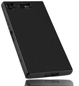 mumbi Hülle f. Sony Xperia XZ1 Compact Schutzhülle Case Tasche Schutz Schwarz