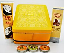 Burt's Bees Hand Repair, Foot Creme and Lip Balm Gift Box 5 Products + Brokenbox